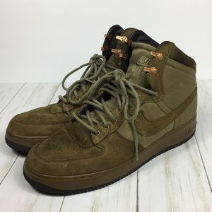 Nike Air Force 1 DCN Military Raw Umber Size 12.5